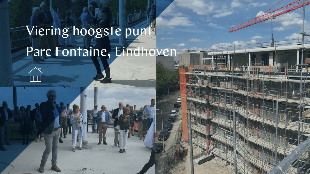 Parc Fontaine Eindhoven reaches highest point of construction